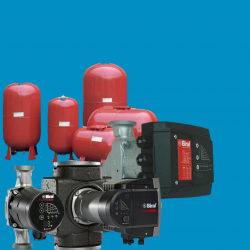 CIRCULATING PUMPS AND EXPANSION VESSEL